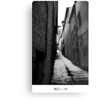 The Victorian Alley Metal Print