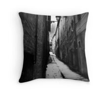 The Victorian Alley Throw Pillow