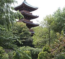 Tokyo Temple by wombatwondering