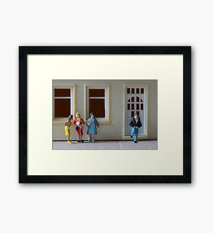 Poor Lance thought that all this time they were referring to him as the 62nd man! Framed Print