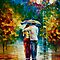 INVINTATION ORIGINAL ART OIL PAINTING ON CANVAS BY LEONID AFREMOV by Leonid  Afremov