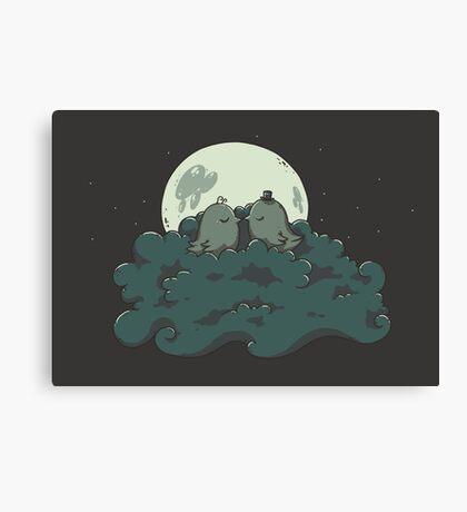 Moonlight Kiss Canvas Print