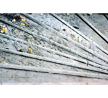The Marble Steps of Life © Vicki Ferrari Photographic Print