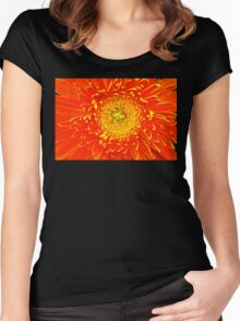 Floral tribute Women's Fitted Scoop T-Shirt