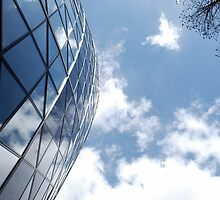 Glass and Sky by Claire Dimond
