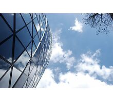Glass and Sky Photographic Print