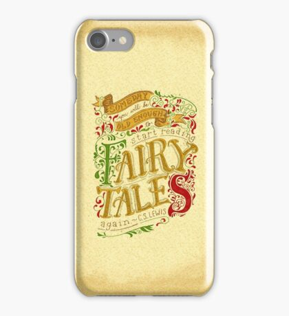Fairytales iPhone Case/Skin