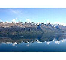 Lake Wakatipu New Zealand Photographic Print