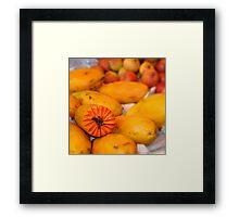 Mamao / Papaya Framed Print