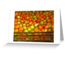Tomate Greeting Card