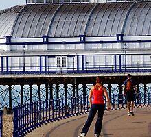 The skater, Eastbourne Pier, Sussex, UK by buttonpresser
