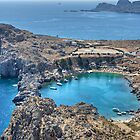 St Paul's Bay, Lindos by Tom Gomez