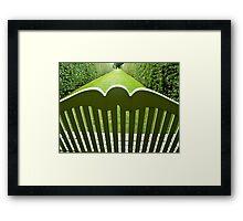 gardens we belong in Framed Print