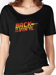 Back To The Vinyl Women's Relaxed Fit T-Shirt