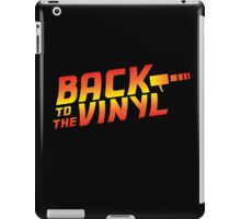 Back To The Vinyl iPad Case/Skin