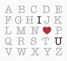 ABC's of Love by EasyArt