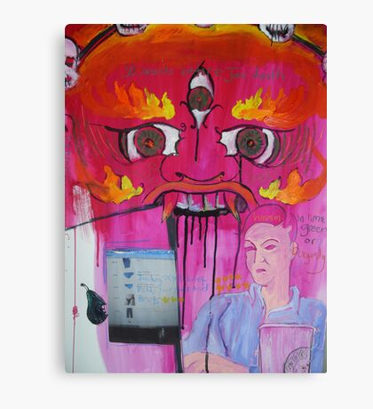 30 seconds Canvas Print