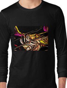 Lights in Neon Long Sleeve T-Shirt