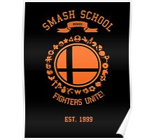 Smash School United (Orange) Poster