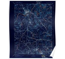 Massachusetts  USGS Historical Topo Map MA Lawrence 352803 1893 62500 Inverted Poster
