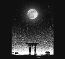 Full Moon in Japan Unisex T-Shirt