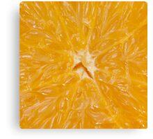 orange 6x6 - print auction READ Canvas Print