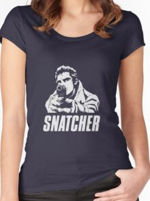 SNATCHER -  Gillian Graphic Women's Fitted Scoop T-Shirt