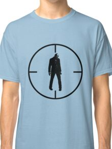 Zombie in Sights Classic T-Shirt