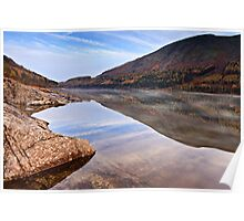 Autumnal Thirlmere, Cumbria. UK Poster