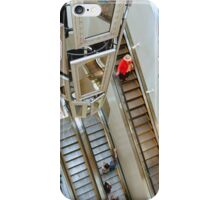 Escaletors at Kodak Theatre Mall iPhone Case/Skin