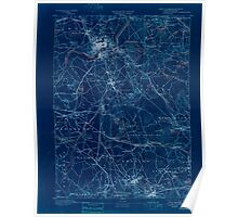 Massachusetts  USGS Historical Topo Map MA Lawrence 352792 1893 62500 Inverted Poster