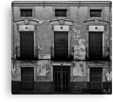 Old facade Canvas Print