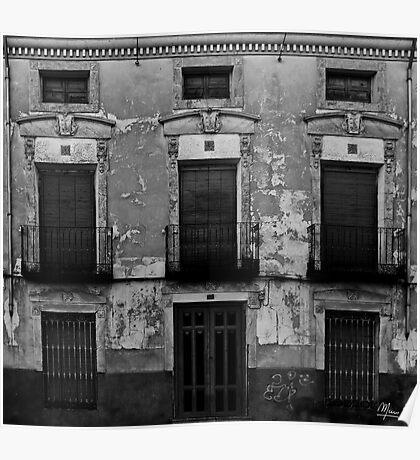 Old facade Poster