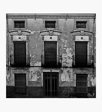 Old facade Photographic Print