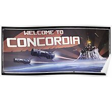 Welcome to Concordia Poster