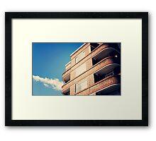 du cane court Framed Print