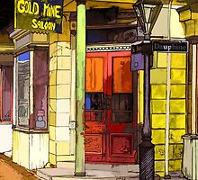 Gold Mine Saloon by chili20325