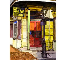 Gold Mine Saloon Photographic Print