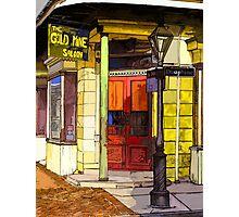 Gold Mine Saloon Photographic Print