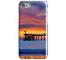 Bacara (Haskell's ) Beach and pier, Santa Barbara iPhone Case/Skin