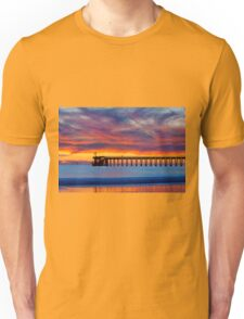 Bacara (Haskell's ) Beach and pier, Santa Barbara Unisex T-Shirt