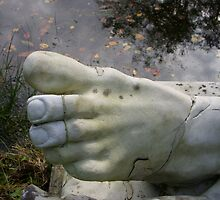 The foot of Hercules by Anita57