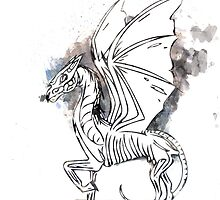 Harry Potter Thestral by Ayrie