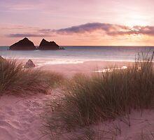 Holywell Bay by Adrian Hall