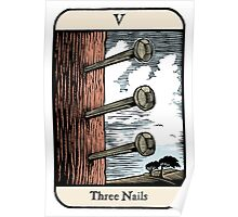 Three Nails Poster