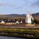Windmill, Blennerville, Kerry, Ireland by Pat Herlihy