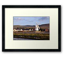 Windmill, Blennerville, Kerry, Ireland Framed Print