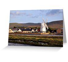 Windmill, Blennerville, Kerry, Ireland Greeting Card