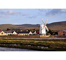 Windmill, Blennerville, Kerry, Ireland Photographic Print