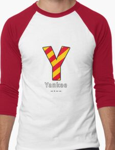 Y = Yankee Men's Baseball ¾ T-Shirt